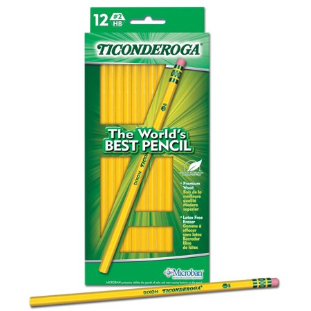 Dixon Ticonderoga Colored Pencil (Dixon Ticonderoga #2 HB Soft Pencils,)