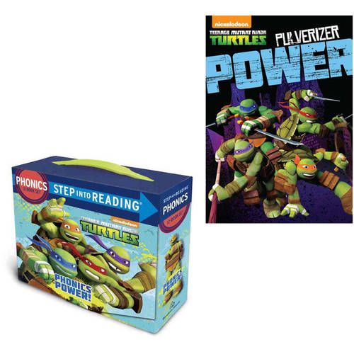 Teenage Mutant Ninja Turtles: Pulverizer Power DVD with Phonics Power! Book