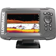 Best Fishfinders - Lowrance 000-14282-001 HOOK-2 5 Fishfinder with SplitShot Transducer Review