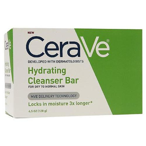 CeraVe Hydrating Cleansing Bar 4.5 oz (Pack of 2)