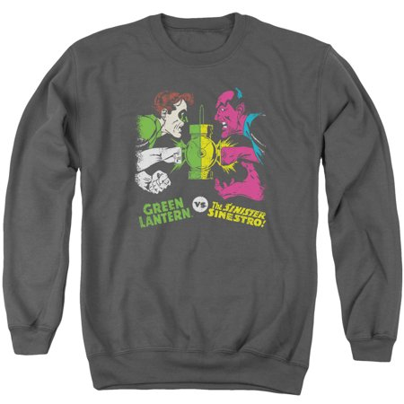 Dc - Gl Vs Sinestro - Crewneck Sweatshirt - Medium