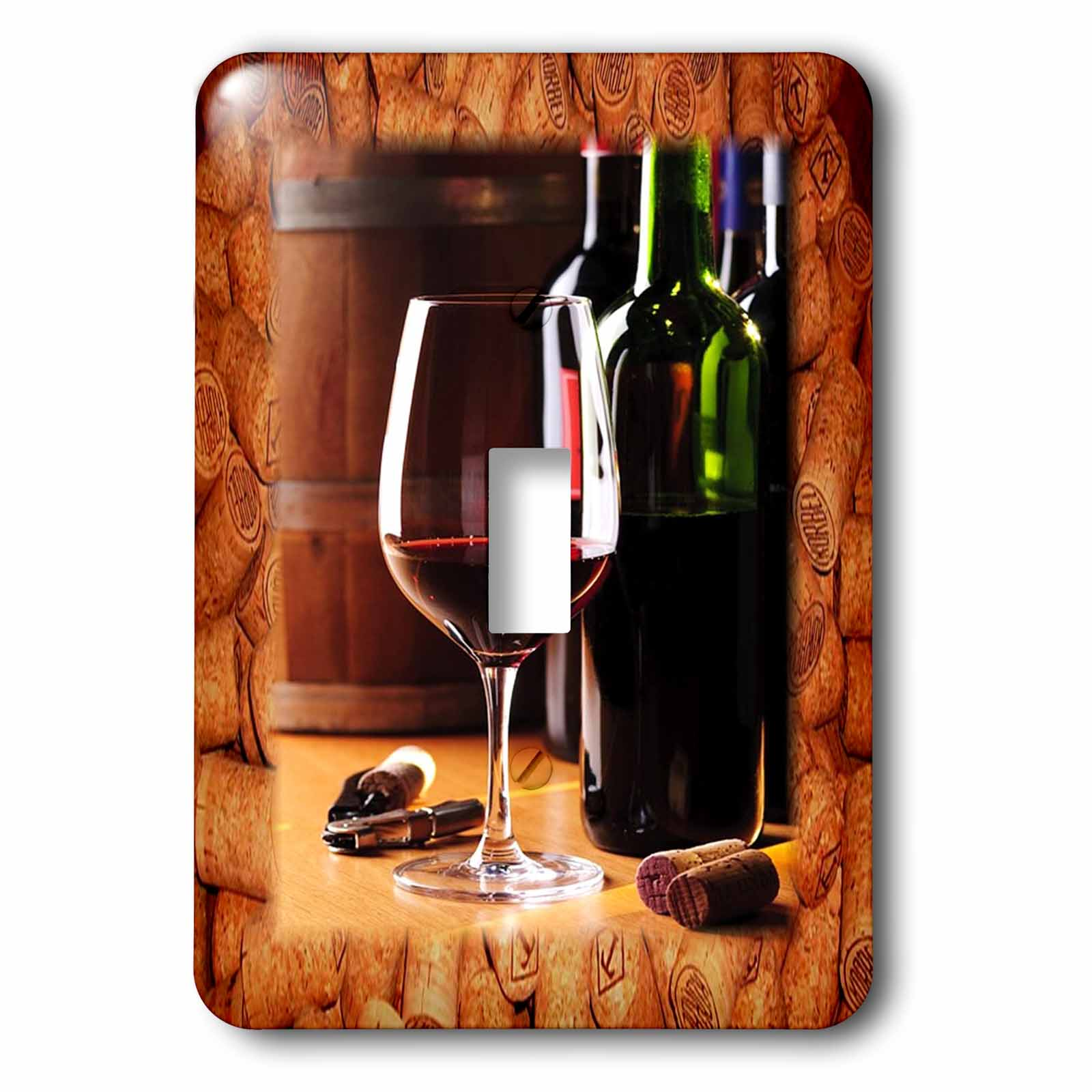 3dRose Share Some Wine With Me, 2 Plug Outlet Cover