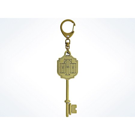 Disney Parks Hollywood Tower Hotel Logo Key Keychain New with Tags - Disney Keychains
