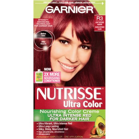 Garnier Nutrisse Ultra Color Nourishing Color Creme - R3 Light Intense Auburn