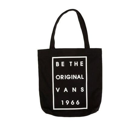 64ec7085a0 Vans - Vans Off The Wall Be The Original Canvas Shoulder Bag-Black -  Walmart.com