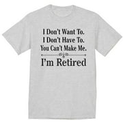 Funny Retirement Gifts Retired T-shirt Men's Graphic Tee