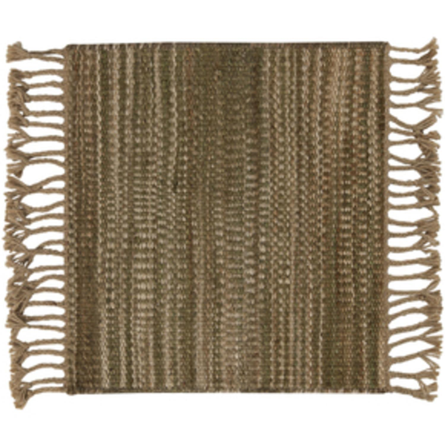 5' x 8' Vintage Style Beige Area Throw Rug