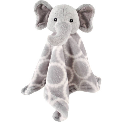 Hudson Baby Boy and Girl Security Blanket - Gray Elephant