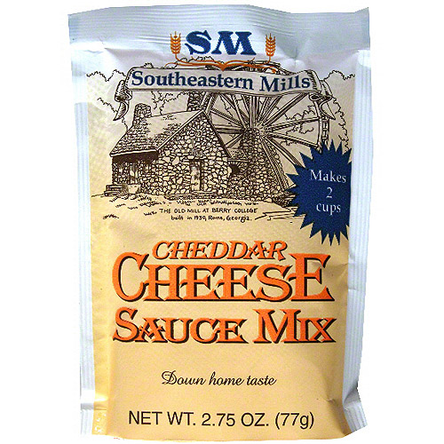 Southeastern Mills Cheddar Cheese Sauce Mix, 2.75 oz (Pack of 24)