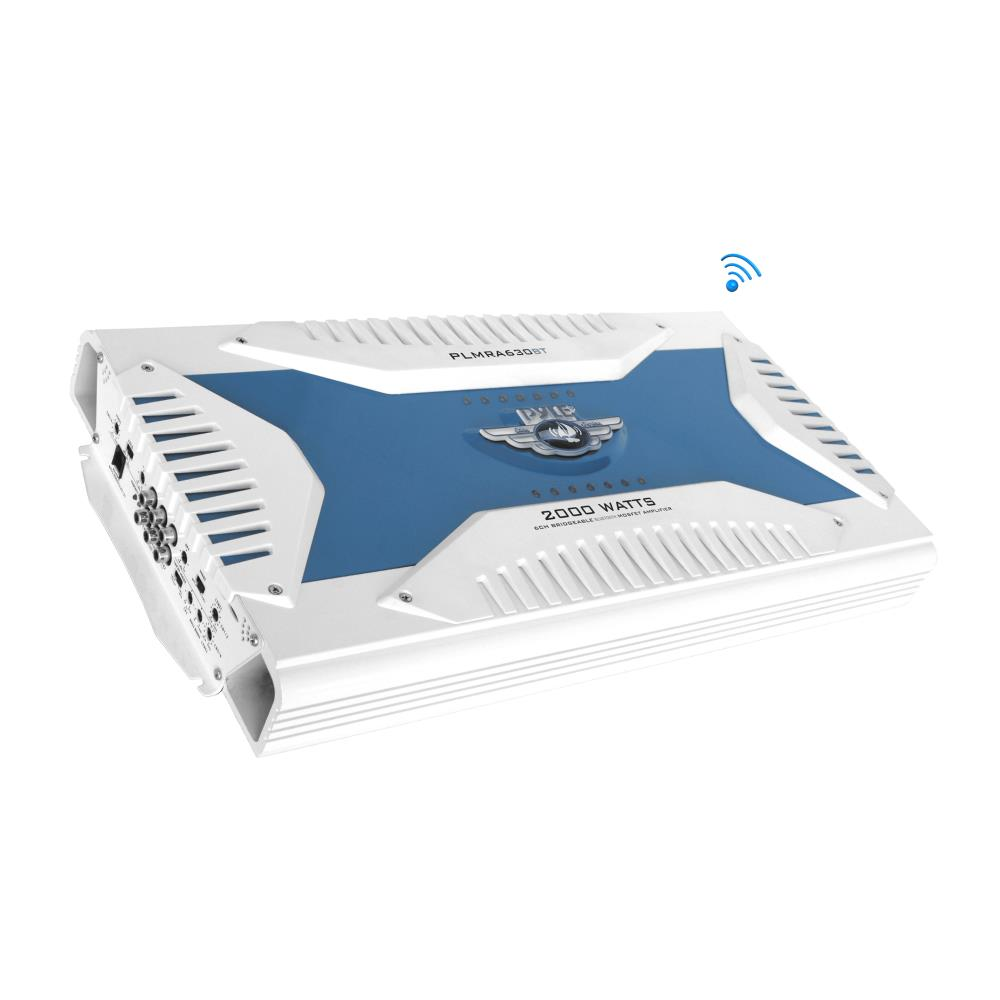 Pyle PLMRA630 - Elite Series Bluetooth Amplifier, Bridgea...