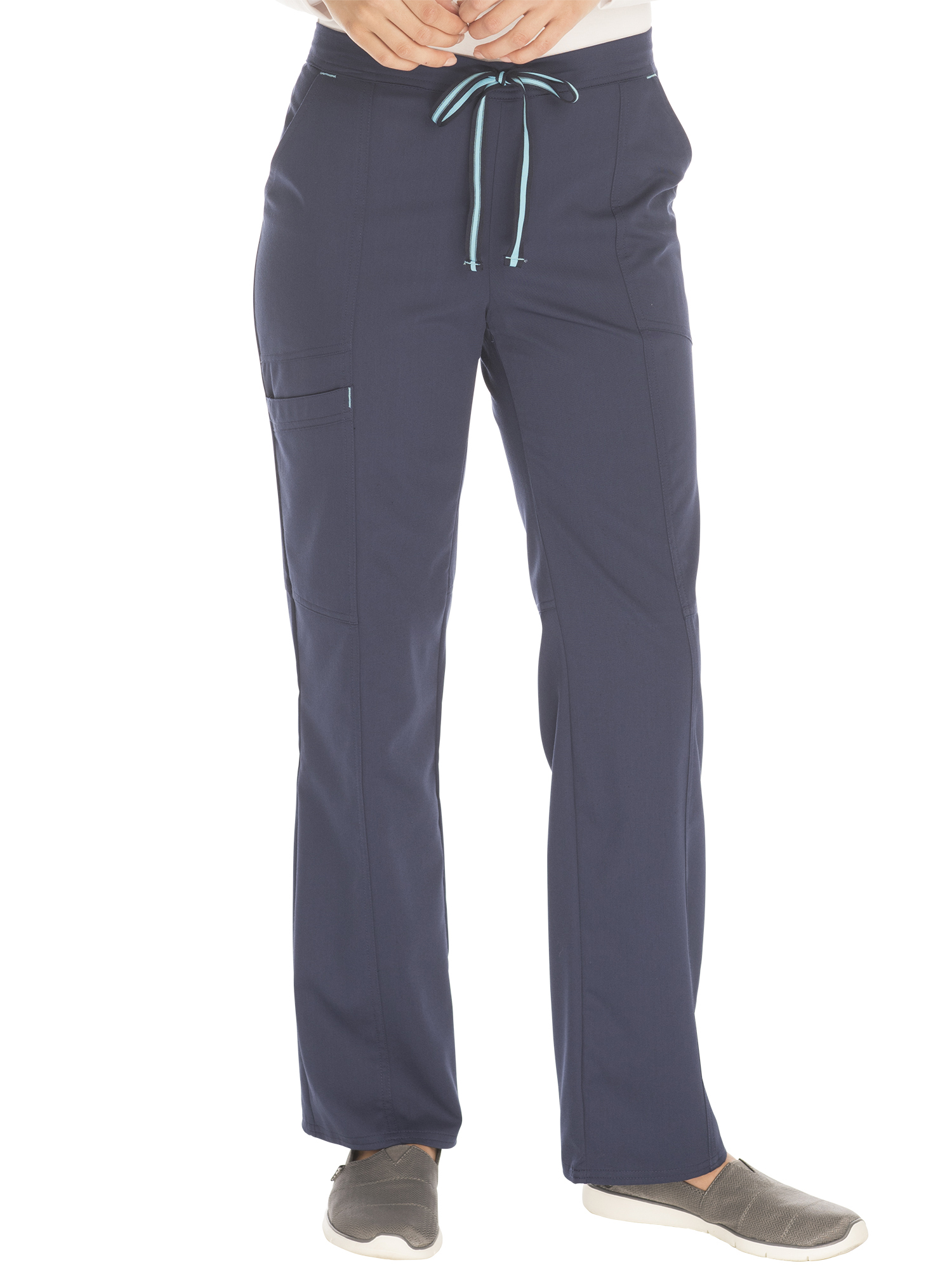 Scrubstar Women's Premium Collection Rayon Drawstring Cargo Scrub Pant