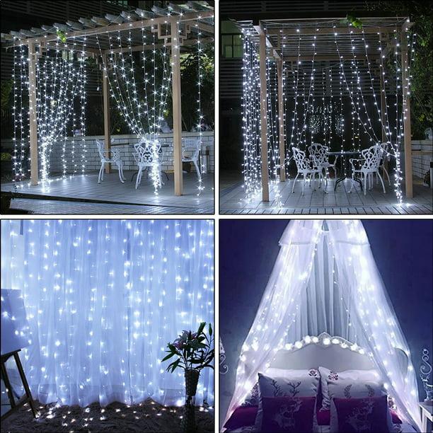 Eeekit Window Curtain String Lights
