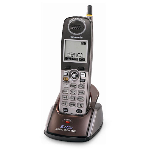 Panasonic KX-TGA550M Accessory Handset for KX-TG5500 Seri...