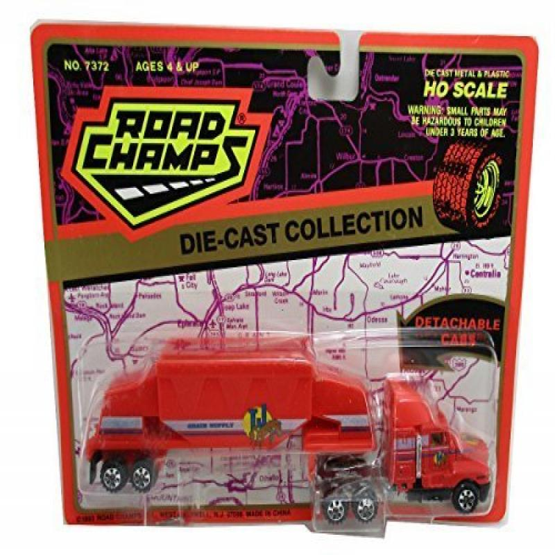 1993 Road Champs Grain Supply Truck 1:87 Semi Tractor Tra...