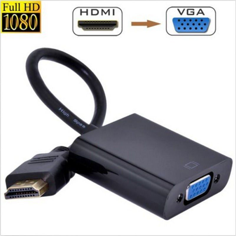 StarTech HDMI to VGA Adapter Converter for Desktop PC/L aptop/Ultrabook
