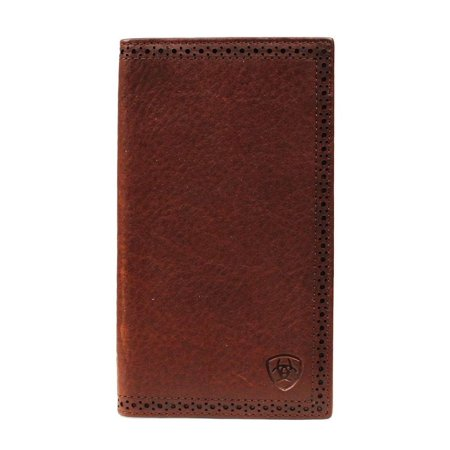 Boy Rodeo Wallet (Ariat Mens Basic Perfed Edge Rodeo Wallet, Dark Copper )