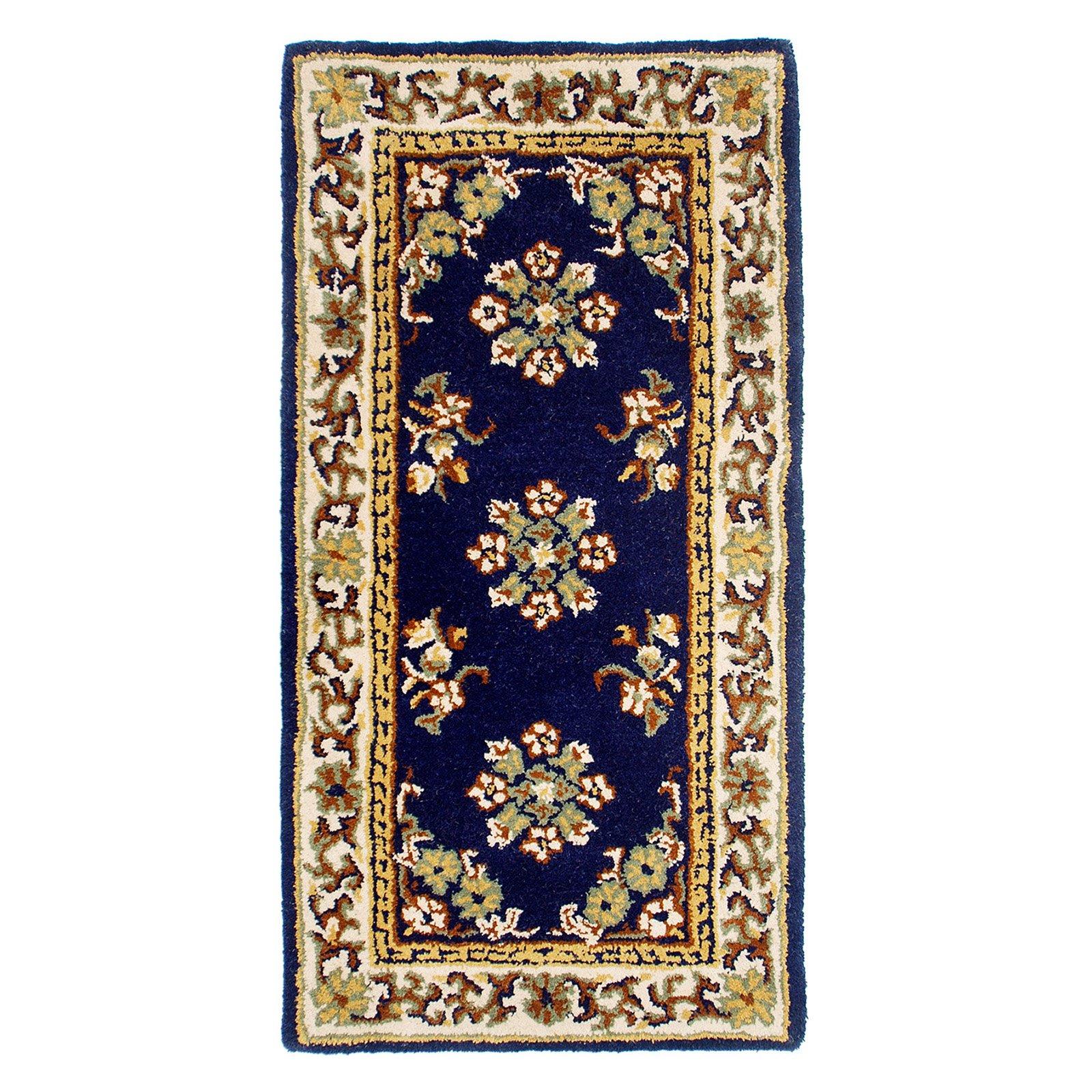 Minuteman International Blue Oriental Hearth Rug by Minuteman/Achla Designs