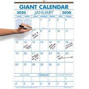 Large 2 Year Vertical Wall Calendar Ideal for Dorm Room, Refrigerator, Kitchen and Office - 14 ¼ in. x 21 ¾ in.