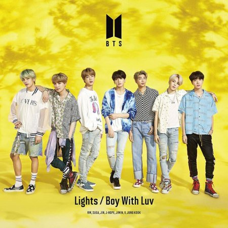 Lights / Boy With Luv (Music Videos) (CD) (Includes DVD)