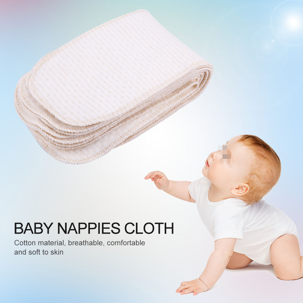 L-DiscountStore Baby Cloth Diaper Washable Diaper Diaper Cover Waterproof Cover Breathable Fabric Baby Diaper Supplies