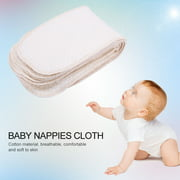 VBESTLIFE 10Pcs/lot Breathable Cotton Baby Nappies Newborn Reusable Washable Insert Diaper Cloth,Reusable Diapers,Cloth Diaper