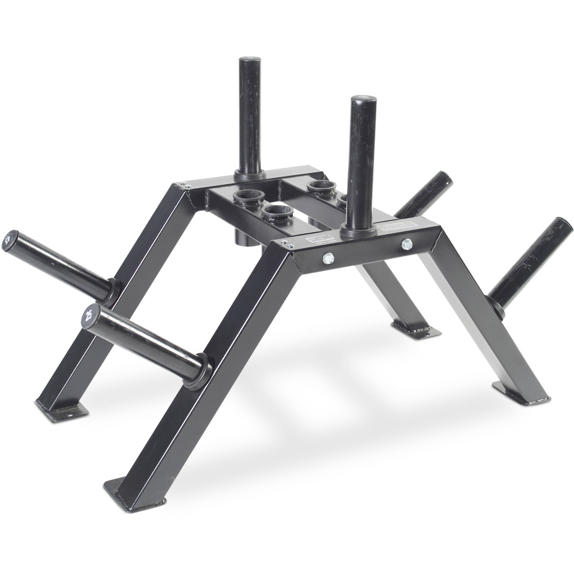 CAP Barbell Weight Plate and Barbell Storage Rack Olympic  sc 1 st  Walmart & CAP Barbell Weight Plate and Barbell Storage Rack Olympic - Walmart.com