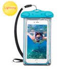 Universal Blue Lightning Waterproof Pouch (with