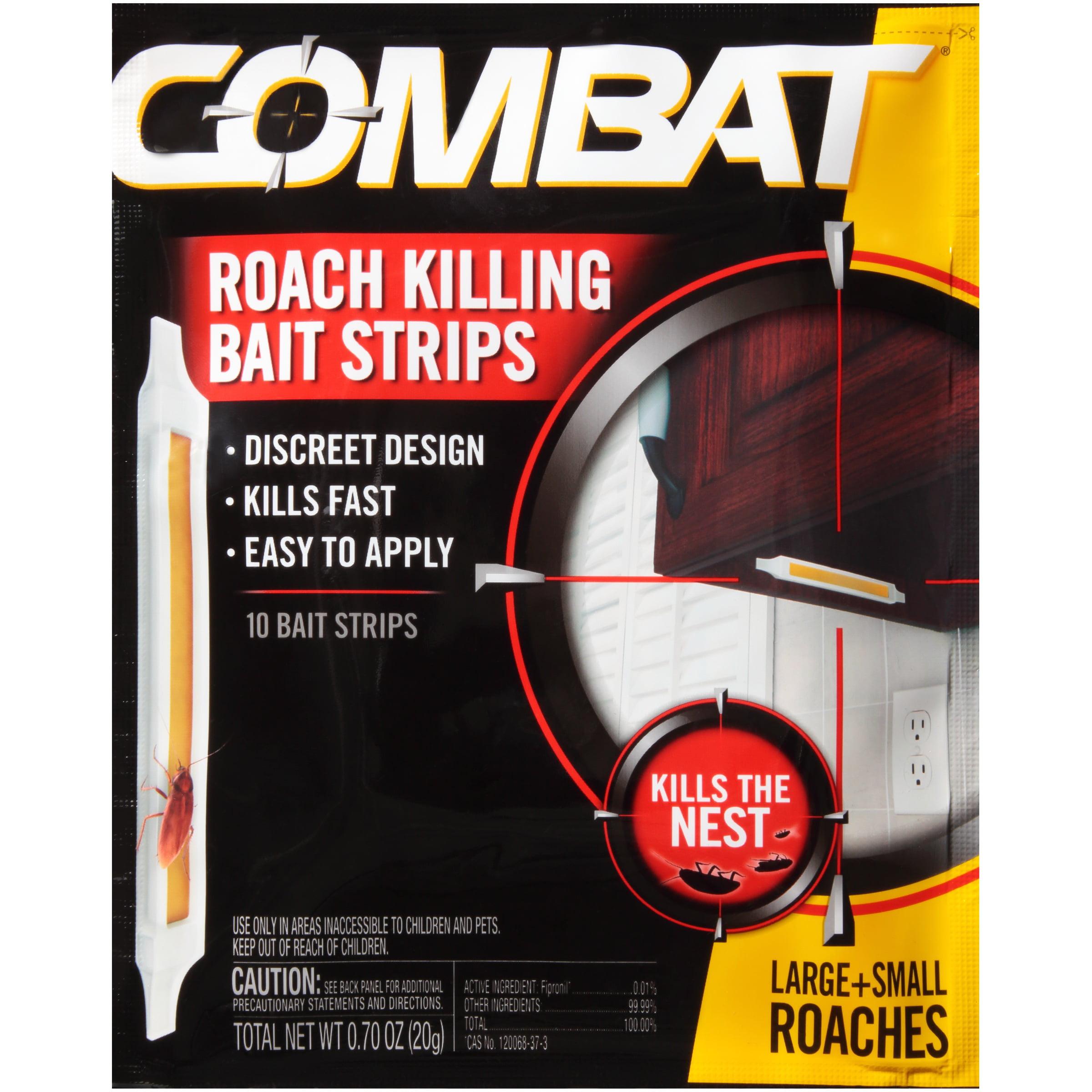 Combat® Roach Killing Bait Strips 10 ct Pouch