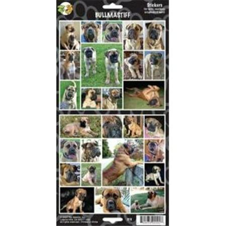 Clearance Item 470-00092 Pet Qwerks S10 Bullmastiff Dog Sticker