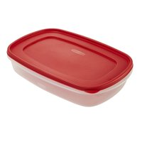 Rubbermaid Food Storage Container with Easy Find Lid 1.5 Gallon/5.68 Liter