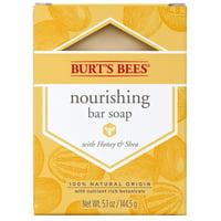 Burts Bees Nourishing Bar Soap with Honey & Shea - 5.1 Ounce