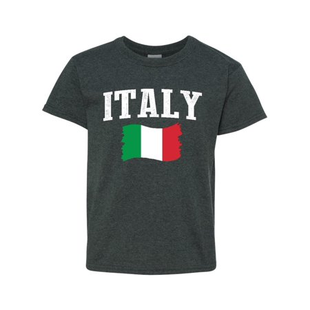 Italy Unisex Youth Kids T-Shirt Tee