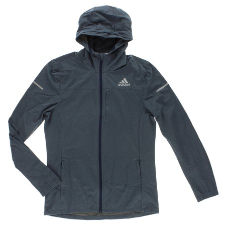 Adidas Mens Sequential Slim Climaproof Jacket Muted Blue