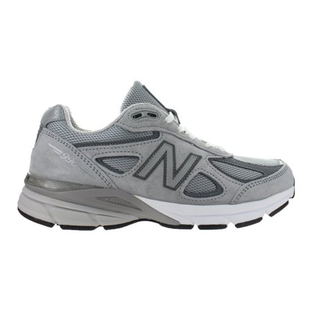 new concept eee2d ca51c Womens New Balance 990 D Width Grey White Black W990GL4