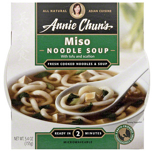 Annie Chun's Miso Soup, 5.4 oz (Pack of 6)