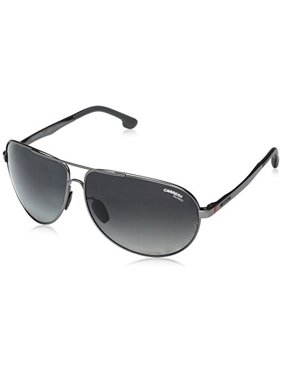 26714f8f8af Product Image Carrera Men's Ca8023s Polarized Aviator Sunglasses, Matte  Dark Ruthenium/Gray SF Polarized, 65