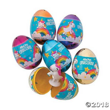Unicorn Filled EASTER EGGS - Pre Filled Easter Eggs