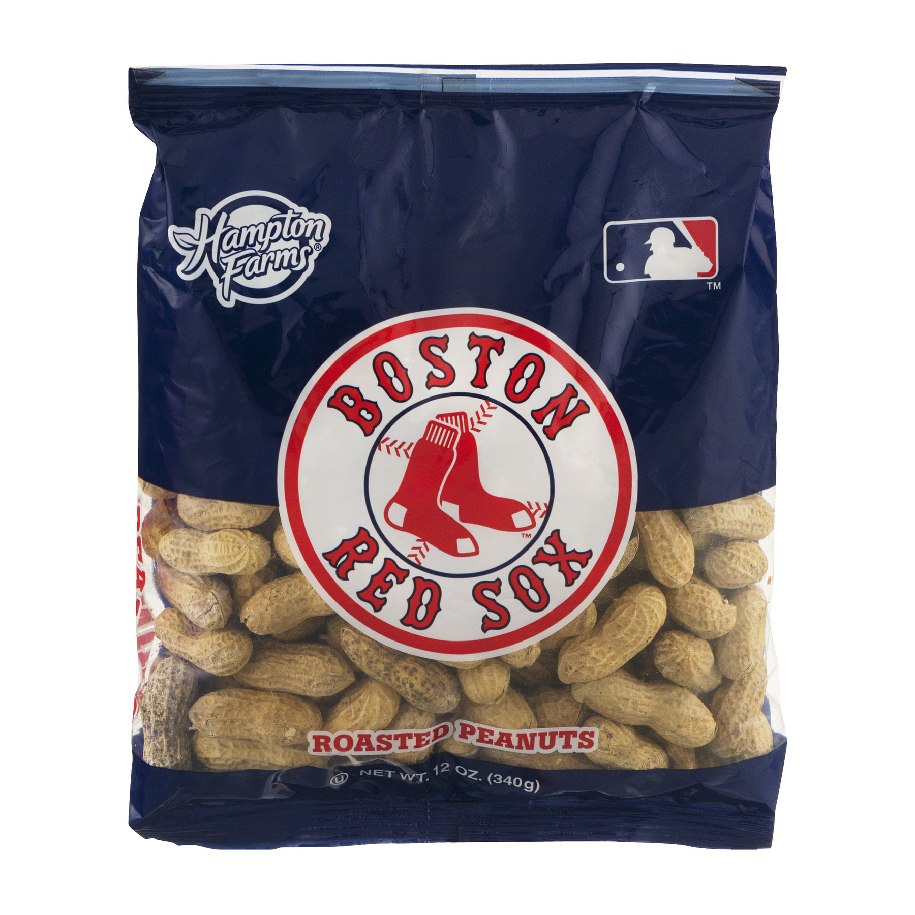 Hampton Farms Roasted Peanuts New York Yankees, 12.0 OZ