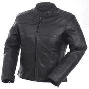 Camoplast 20-218-10 Womens Premium Leather Jacket Size 10 Black