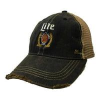 759910183d1d7 Product Image Miller Lite Brewing Company Retro Brand Vintage Mesh Beer  Adjustable Hat Cap