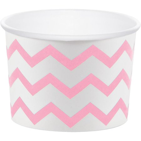 Creative Converting Classic Pink Chevron Treat Cups, 6 ct - Treat Cups