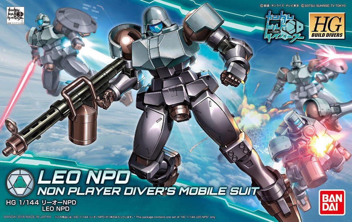 Bandai Hobby Gundam Build Divers #08 HGBD Leo NPD HG 1 144 Model Kit by Bandai Hobby