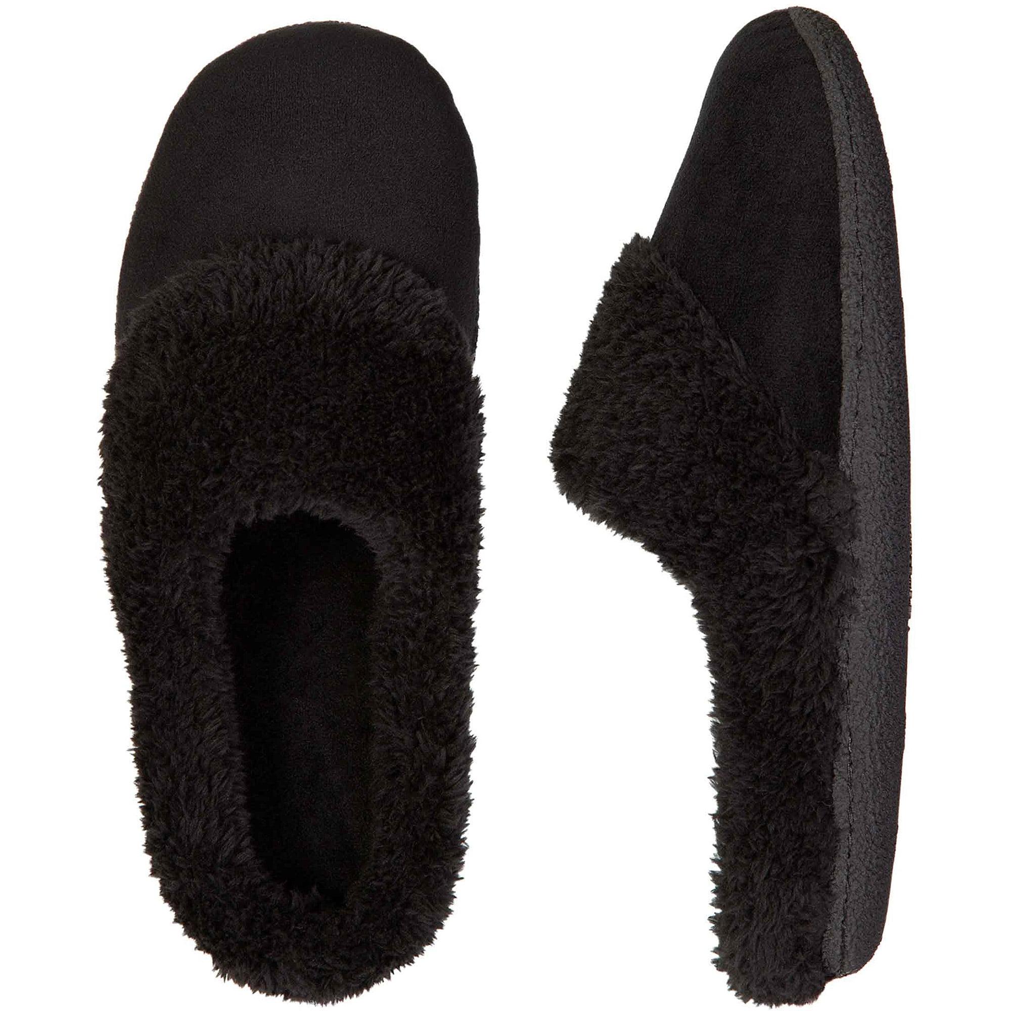 DF By Dearfoams Women's Velour Clog Slipper Shoes