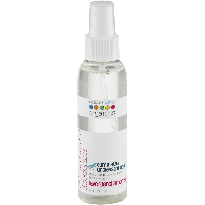 Nature's Baby Organics PU All Purpose Deodorizer, Lavender Chamomile