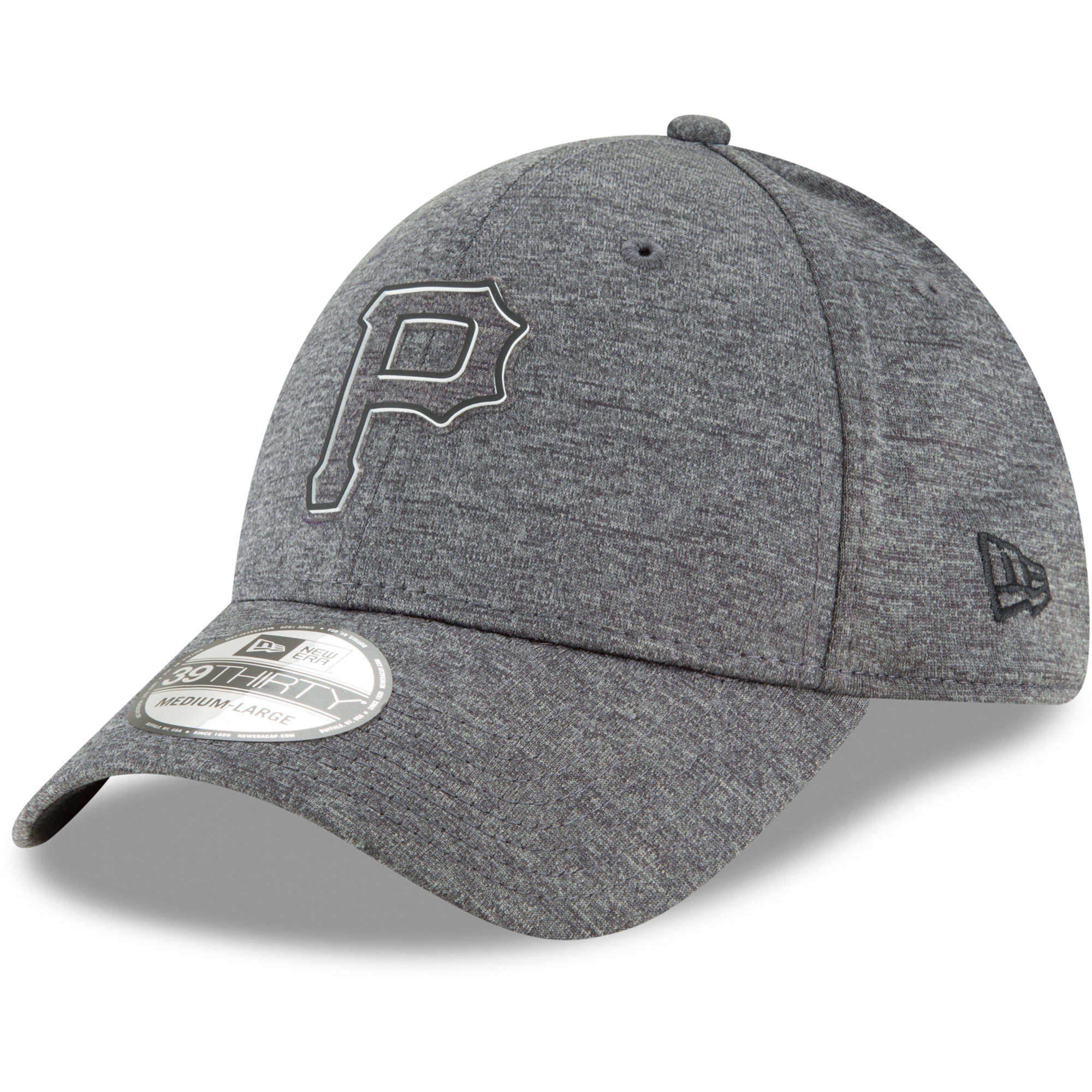 Pittsburgh Pirates New Era 2018 Clubhouse Collection Classic 39THIRTY Flex Hat - Graphite