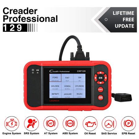 Launch CRP129 OBD2 Scanner Car Diagnostic Scan Tool with ENG/AT/ABS/SRS EPB SAS OIL Service Light