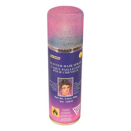 Multi Color Glitter Hairspray - Spray Hair Glitter