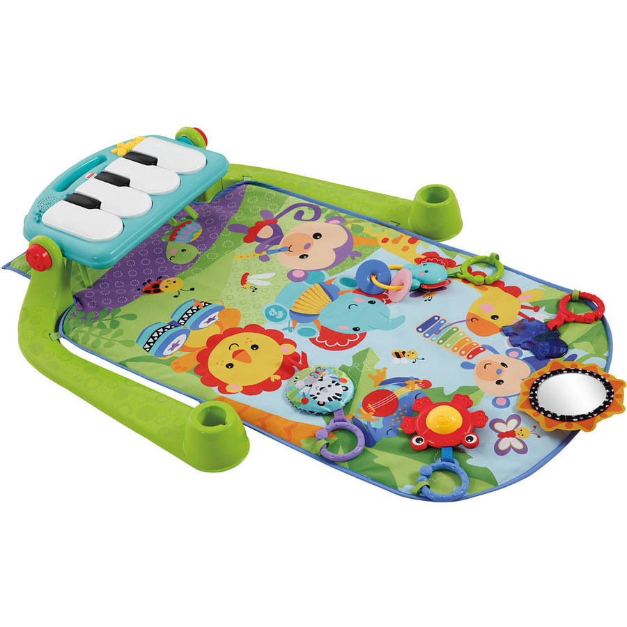 Fisher-Price Kick 'N' Play Piano Gym, Green