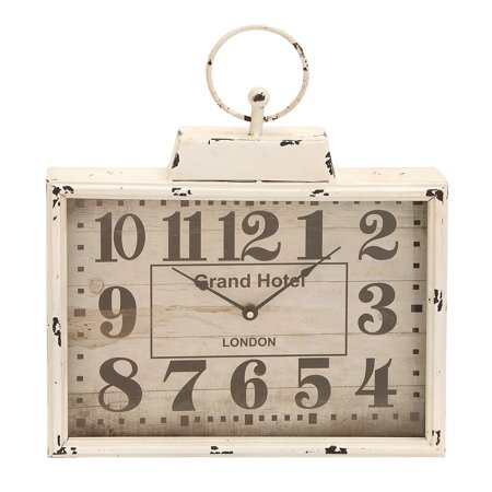Multi Color Clock - Decmode Metal Wall Clock, Multi Color