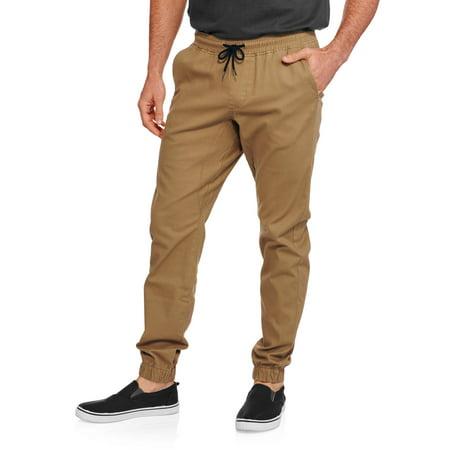 Faded Glory Men's Twill Jogger Pants - Walmart.com
